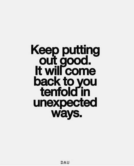 keep putting out good